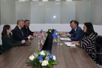 Vizita e Ambasadorit te SHBA