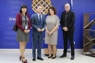 Takimi me perfaqesuesen e Misionit Vezhgues te BE