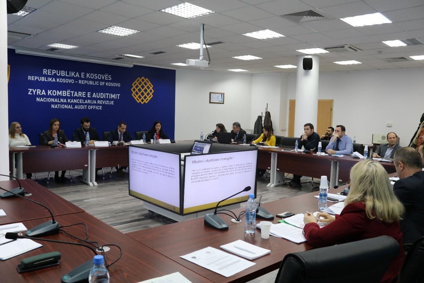 Prezantimi i raportit te KASH 2018 2020